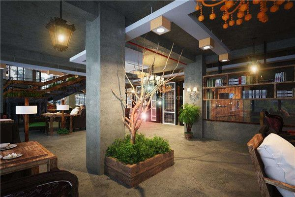 尤其是自然優雅的氛圍,用色簡約的亮點,咖啡廳裝修就是保證更好功能