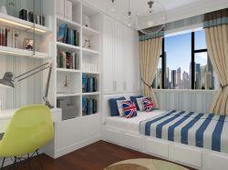 榻榻米床效果图 卧室