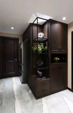2017新中式家装效果图 2017鞋柜玄关装修设计