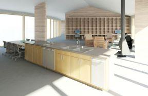 廚房中島效果圖 300平超大戶型平面圖