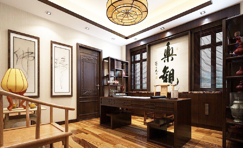 中式风格书房装修效果图大全图片图片