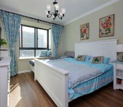 女生小房间美式乡村窗帘设计图片图片