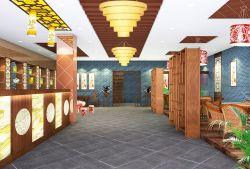 中式风格饭店走廊装修效果图大全图片图片