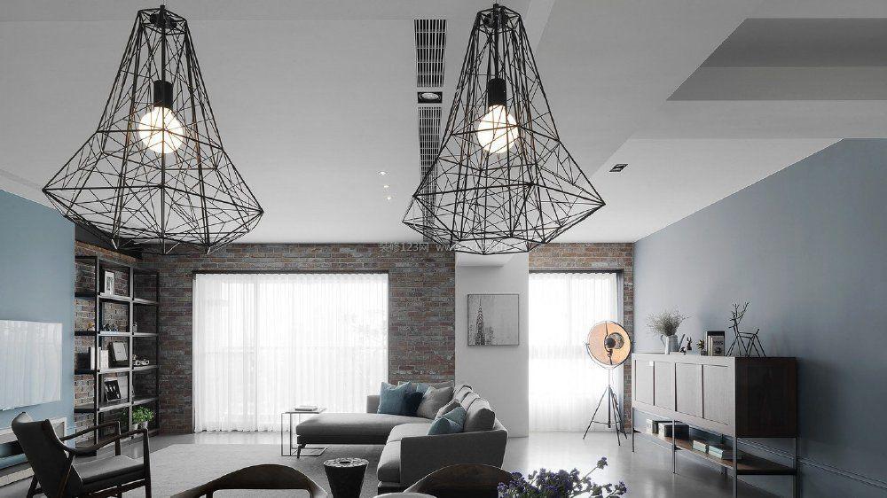 客厅创意灯具吊灯设计图片大全2017