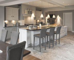 開放式廚房裝修風格 90平米裝修歐式風格