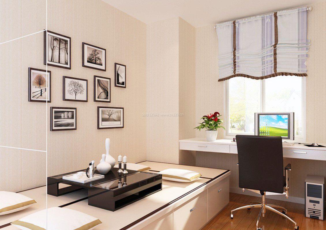 8平米小书房茶室设计装修效果图
