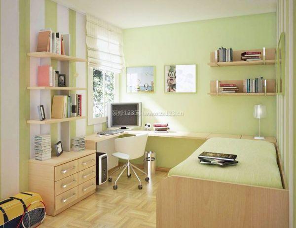 小户型书房装修设计 节约空间很重要