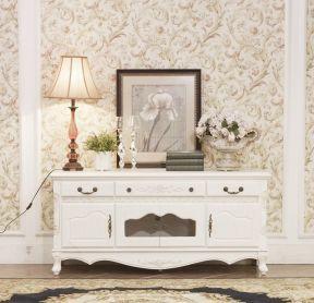 室内设计欧式电视柜图片大全白色-壁挂电视柜