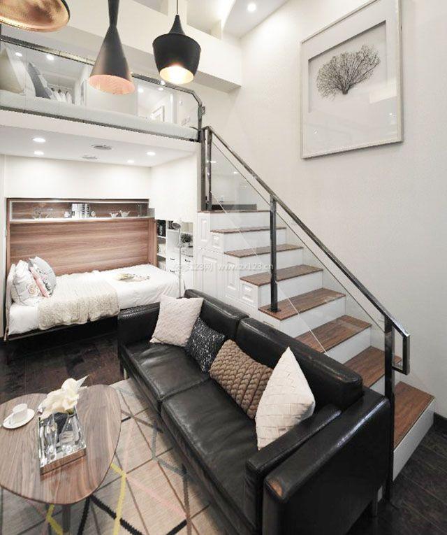 40平小复式公寓装修图