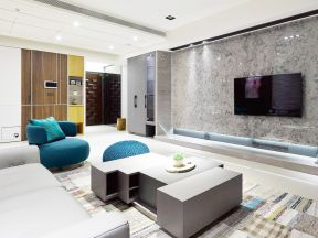 简约微晶石客厅电视背景墙效果图-电视背景墙墙衣效果图