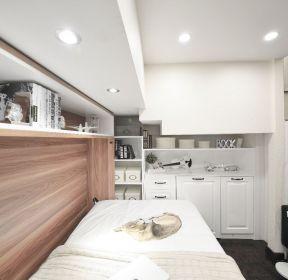40平公寓单人床装修图-每日推荐