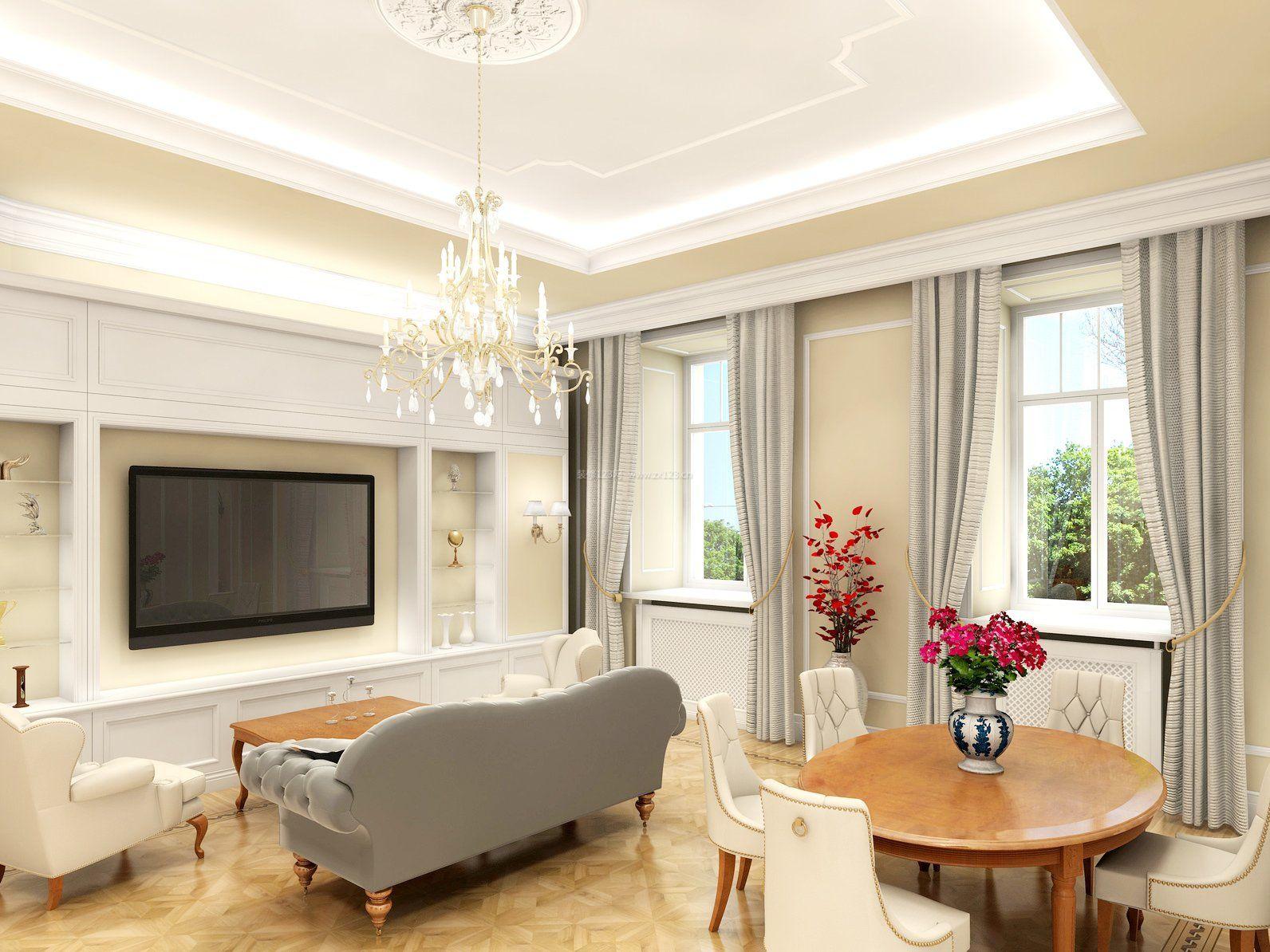 90平方室内客厅装修效果图大全