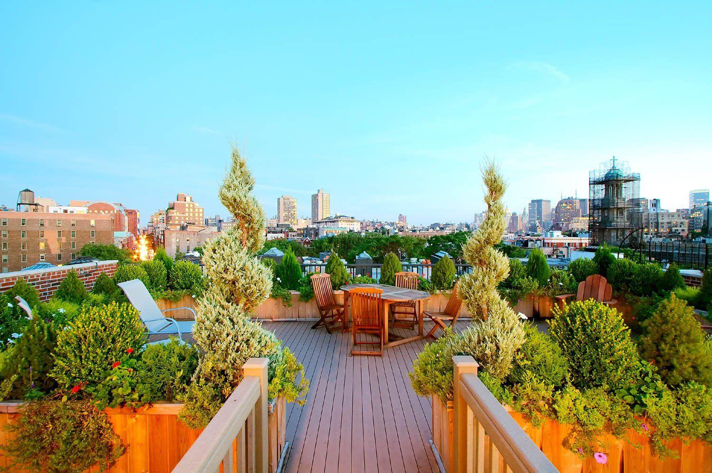 别墅屋顶花园效果图欣赏大全