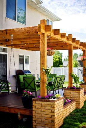 别墅屋顶花园效果图