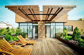 別墅屋頂花園效果圖
