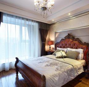 2020简欧风格三室两厅两卫简洁主卧室装修效果图-每日推荐
