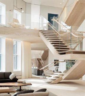2017复式楼梯三层楼房设计图