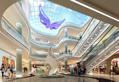 把咸宁商场ballbet贝博网站设计交给天霸设计可获得满意效果