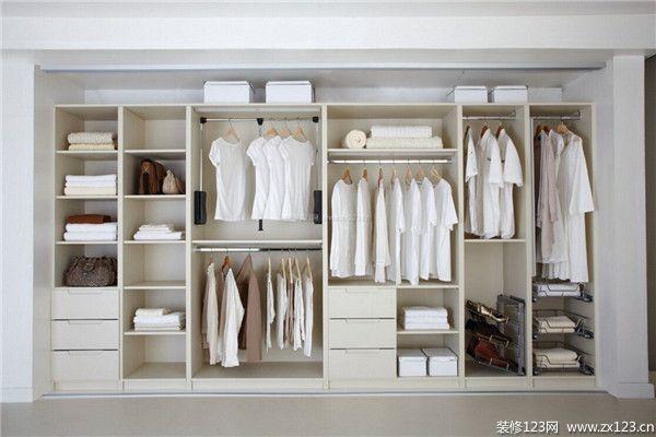 简约风格卧室衣柜设计效果图