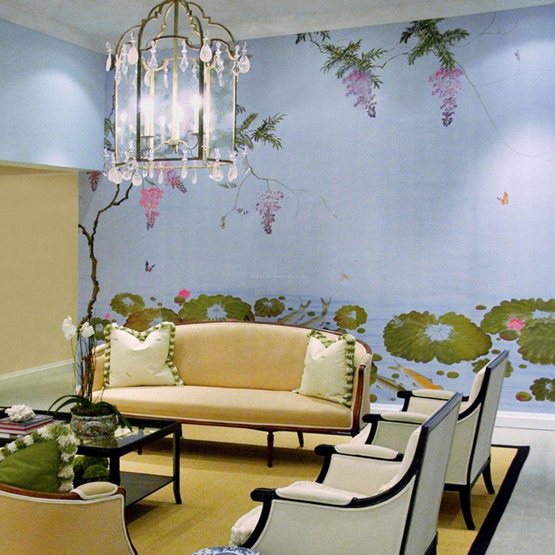 田园风格室内墙壁装修效果图大全图片