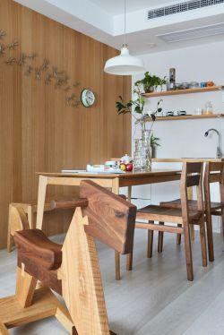 时尚餐厅欧式餐桌设计装修效果图