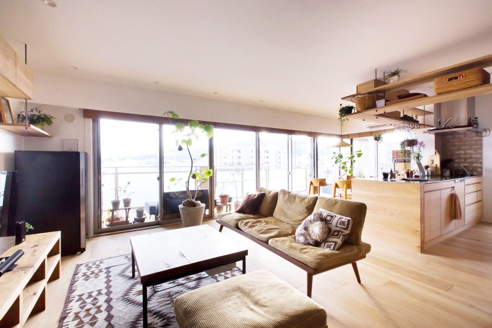 公寓式住宅客厅设计装修图片
