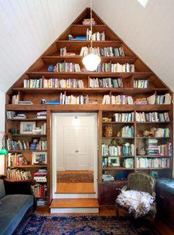 豪宅別墅書柜設計圖片大全