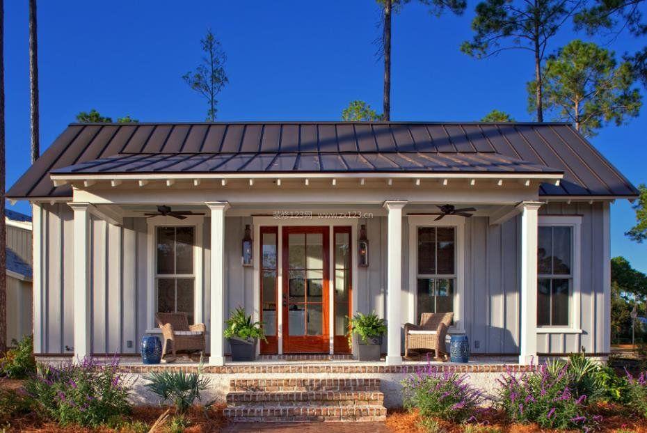 70平米小房子外观设计装修效果图