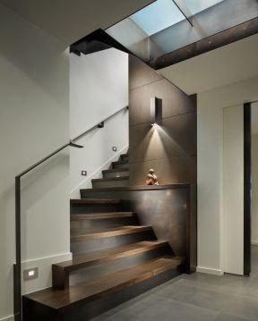 2017现代室内钢结构楼梯图集
