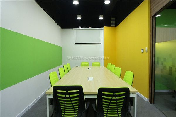 小型会议室装修设计(请点击:会议室效果图-天津会议室装修预算 会图片