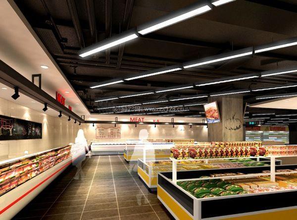 合肥小型超市装修 新鲜生活从这里开始图片