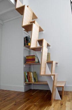 小阁楼楼梯设计效果图片