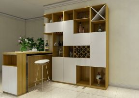 家庭室内吧台酒柜设计效果图大全图片2017图片