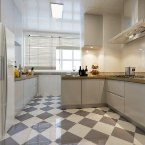 2017北欧风格两室两厅厨房装修效果图