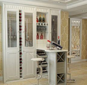 最热美图 2020嵌入式酒柜装修效果图 每日推荐>> 2020家装小客厅嵌入