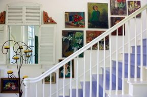 樓梯裝飾墻