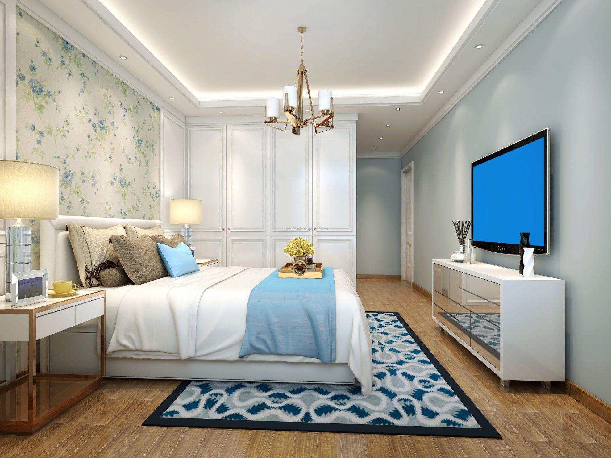 卧室壁纸装修效果图_卧室壁纸装修效果图大全