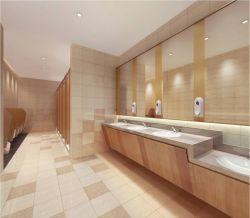 大型商场卫生间洗手台装修效果图图片
