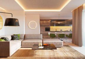 簡約客廳燈具設計