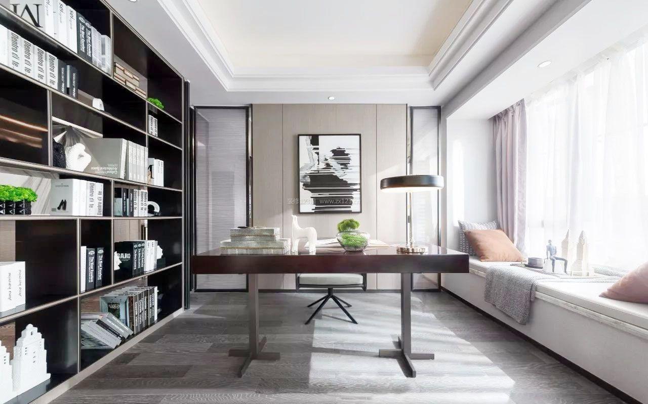 厦门二手房整体书房设计装修_装修123效果图