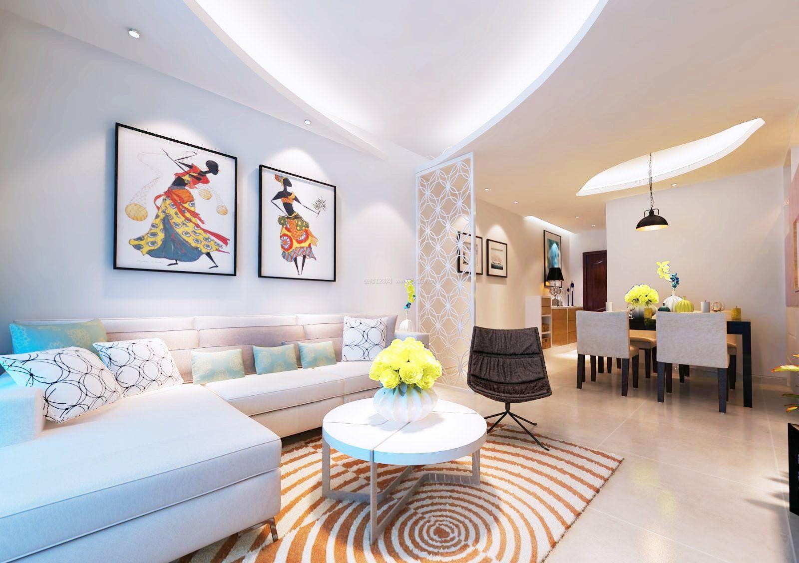 家装效果图 客厅 90平方米房屋客厅装修效果图大全 提供者