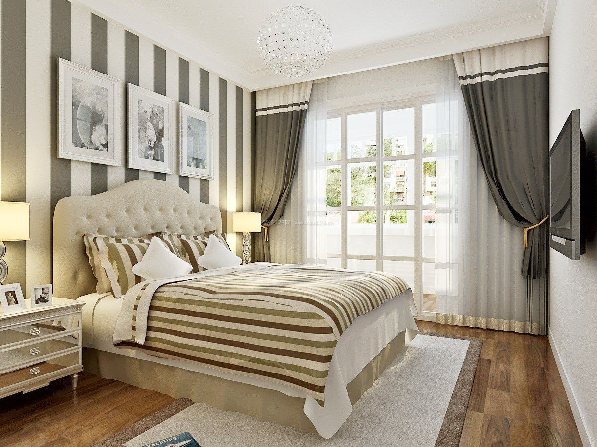 家装效果图 卧室 90平方米房屋卧室装修效果图大全 提供者