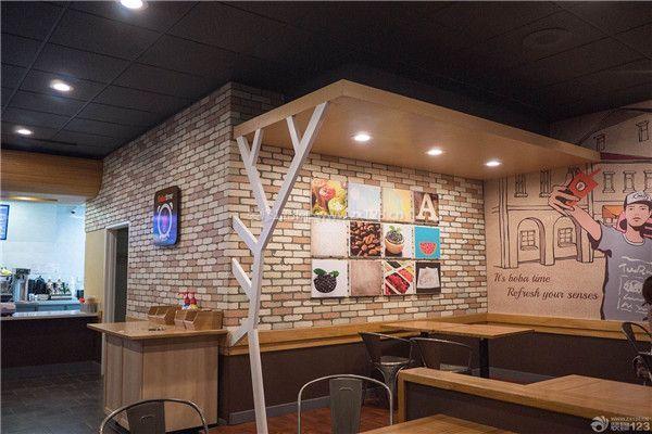 杭州15平米奶茶店装修设计 如何装修15平米奶茶店