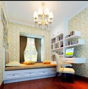 简欧风格阳台改榻榻米效果图-家装两室改三室图片