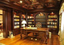 美式风格书房设计 美式书房装修攻略
