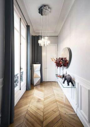 欧式走廊室内地面3d装修图