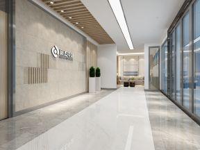 2017办公楼内部装修效果图 办公室背景墙装修效果图片