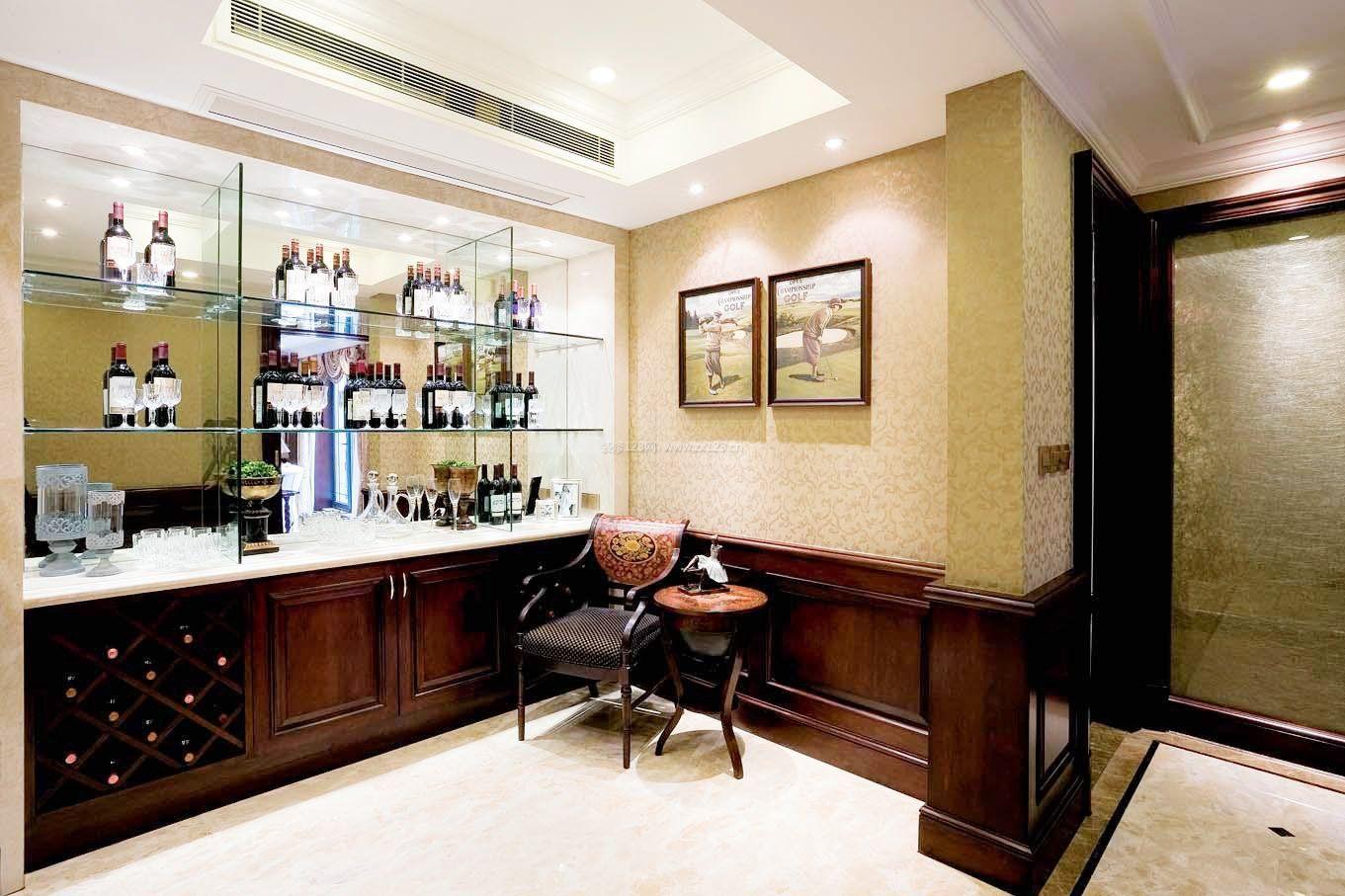 家庭室内红酒柜装修效果图片大全图片