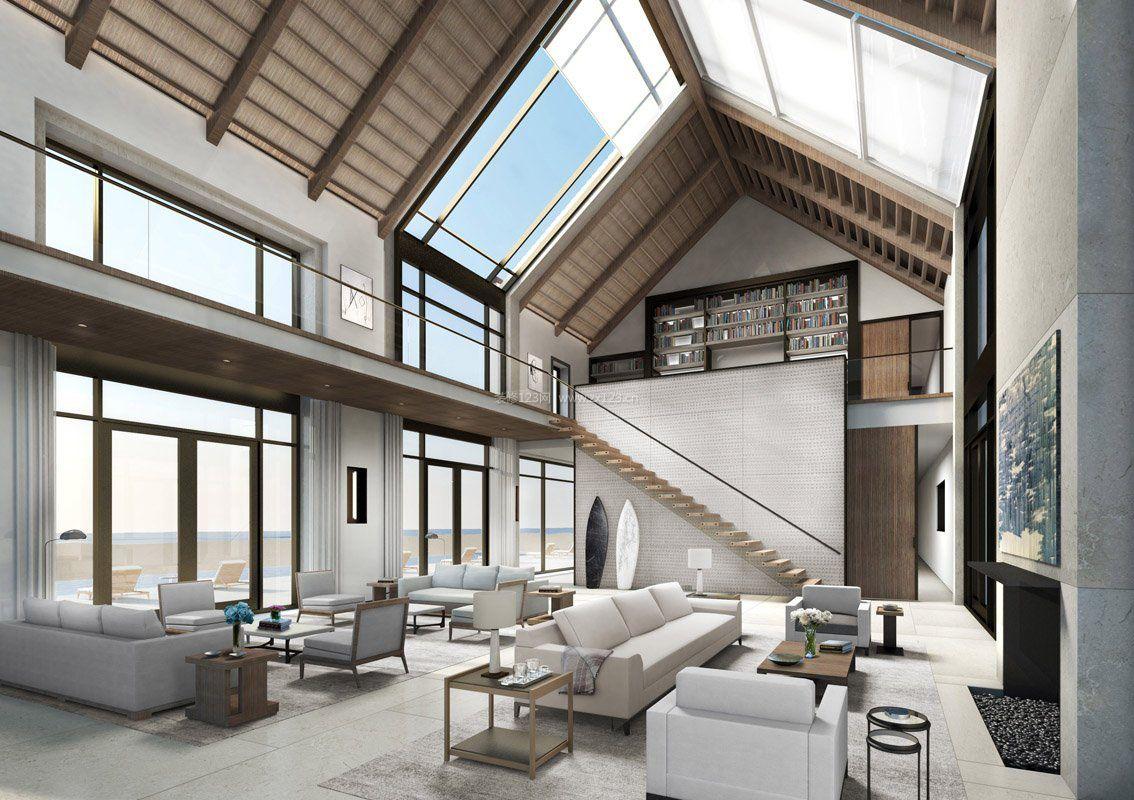 高档房子小复式简约装修图