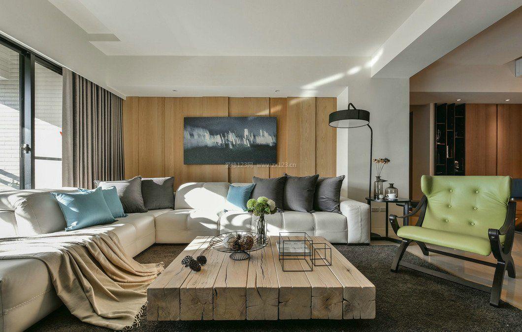 拓者设计吧现代客厅家装装修效果图图片